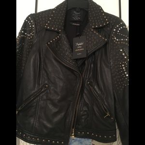 Zara Trafaluc Authentic Leather Jacket (Limited E)
